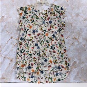 PLEIONE. Floral Women's Blouse size S